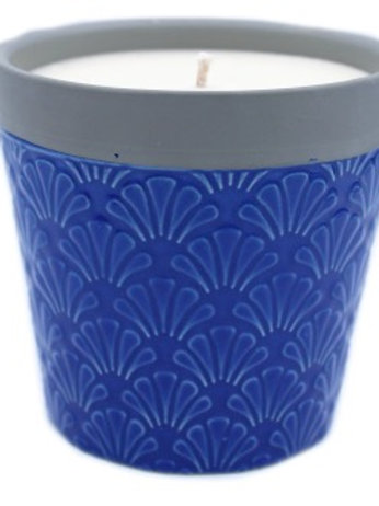 Blue Day Candle Pot
