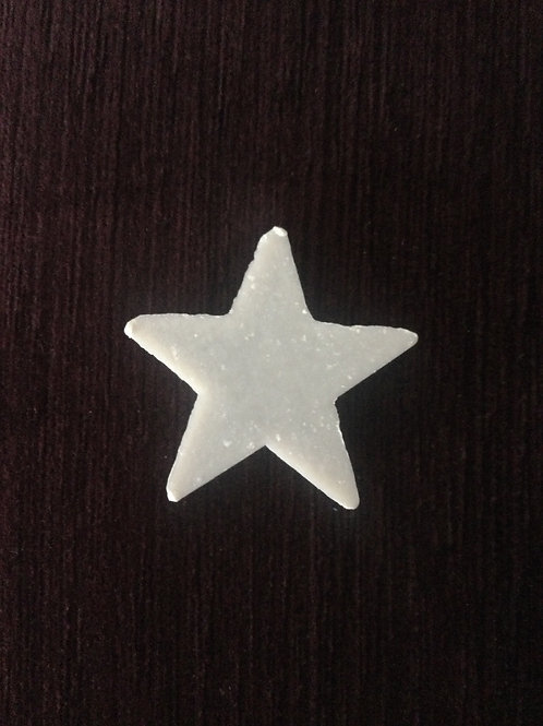 Mini Silver Star Soap