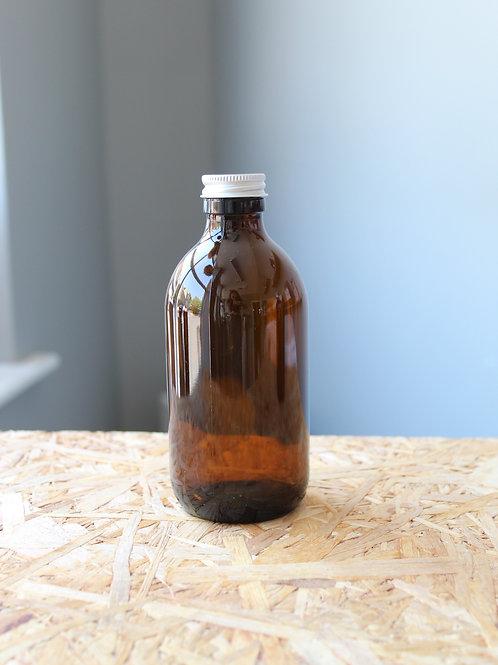 300ml Brown Glass Bottle