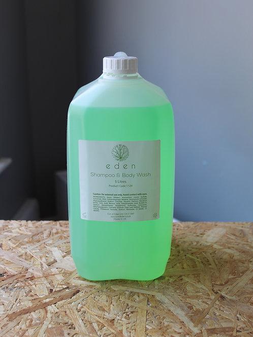 Basil, Orange & Peppermint Shampoo & Bodywash