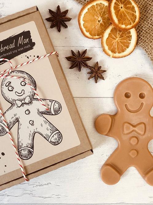 Large Gingerbread Man Wax Melt