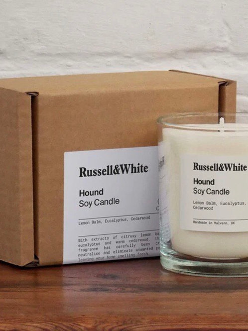 Russel&White Candle Hound