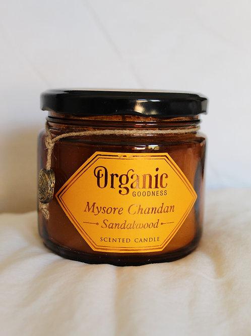 Organic Goodness Sandalwood Candle