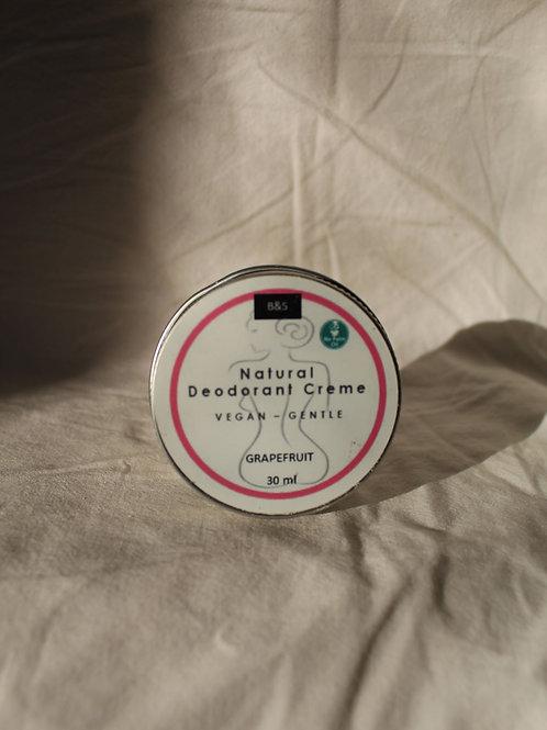 Grapefruit Deodorant Creme 30ml