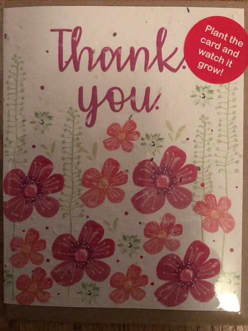 Thank you Plant the Card