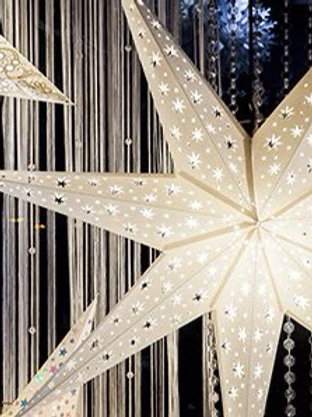Starlight Paper lanterns in White