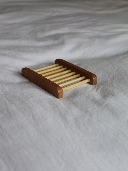 Ladder Bamboo Soap Dish