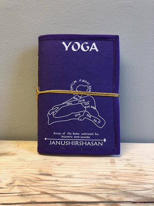 Handmade Fabric Covered Notebook