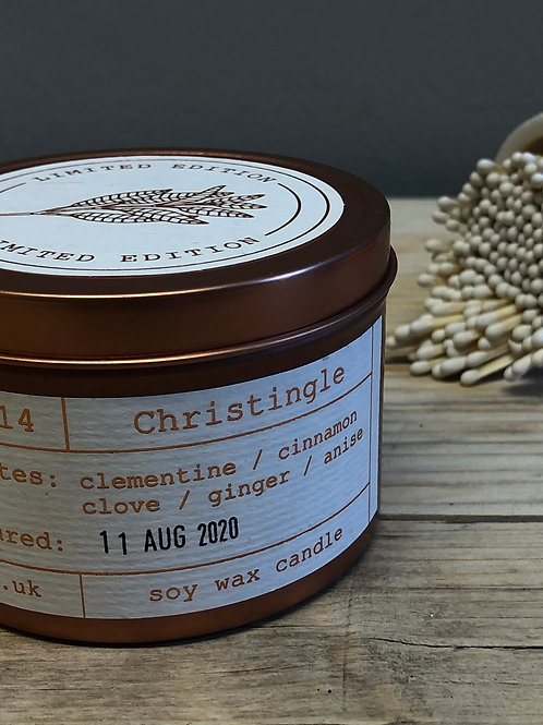 Tiger & Co Limited Edition Christingle Candle