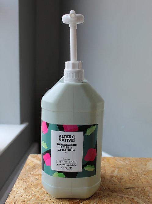 Refill Rose & Geranium Body Wash