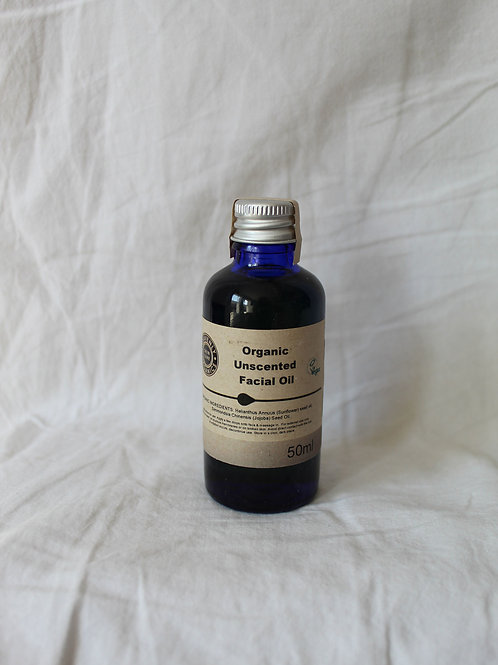 Organic Unscented Facial Oil