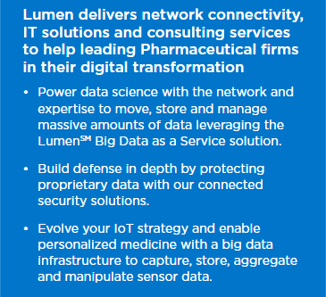 Lumen Adaptive Networking And IT Solutions For Pharmaceutical Firms