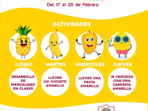 Yellow Week Jardín Infantil FECI