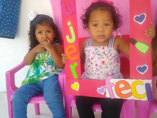 Celebración día de la mujer Jardín Infantil FECI