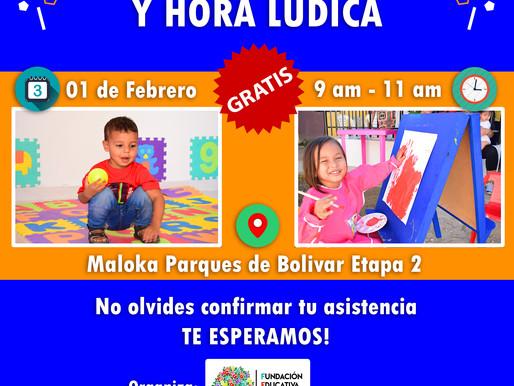 Eventos FECI: taller de pintura y hora lúdica, sábado 01-Feb-20