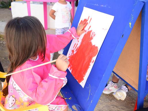 Se realizó la actividad de estimulación temprana en Jardín Infantil FECI