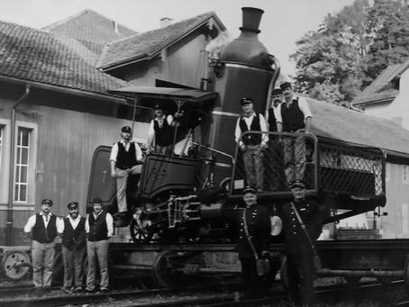 Zahnrad-Dampflokomotive Lok Nr. 7