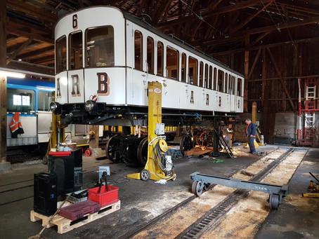 Reparatur & Revision Triebwagen No. 6