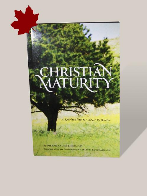 Christian Maturity: A Spirituality for Adult Catholics