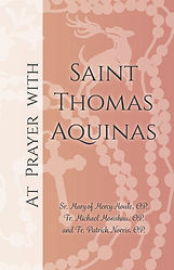 Ebook Cover At Prayer with Saint Thomas