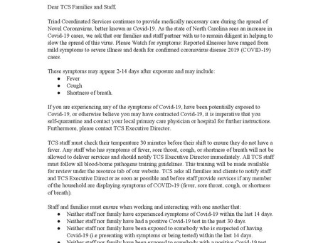 Covid-19 Update: August 2020