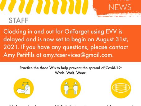 August/September 2021 Newsletter
