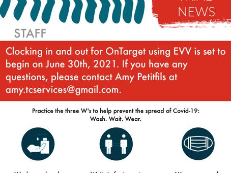 June/July 2021 Newsletter