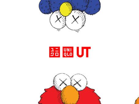 KAWS x Sesame Street hos Uniqlo