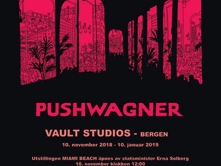 Pushwagner hos Vault Studios
