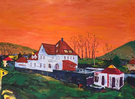 Utstilling med Axel Vindenes
