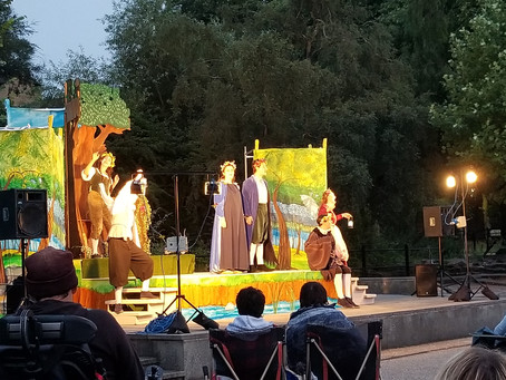 """""""A Midsummer Night's Dream"""" Review – Chapterhouse Theatre Company"""