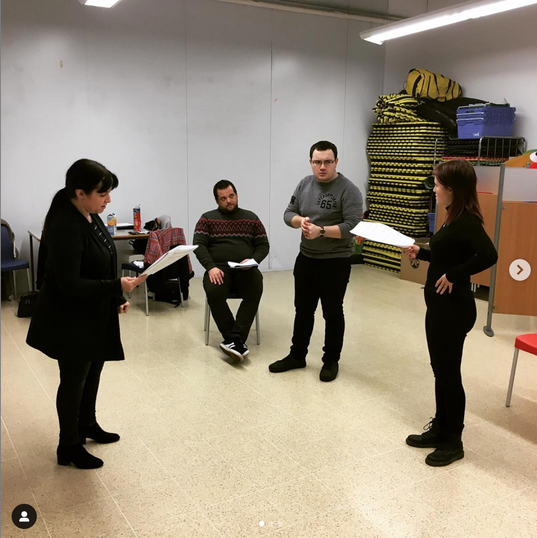 Rehearsal for Murder at Redrum Manor