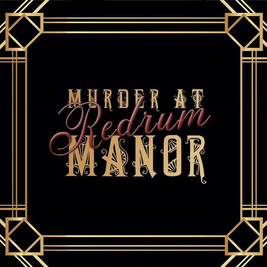 Murder at Redum Manor Logo