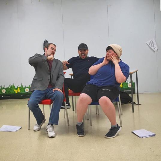 Rehearsal Photo Tesco Bulwell