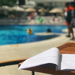 Script at pool