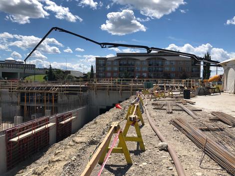 Work is Progressing at Kingsland Junction in Calgary