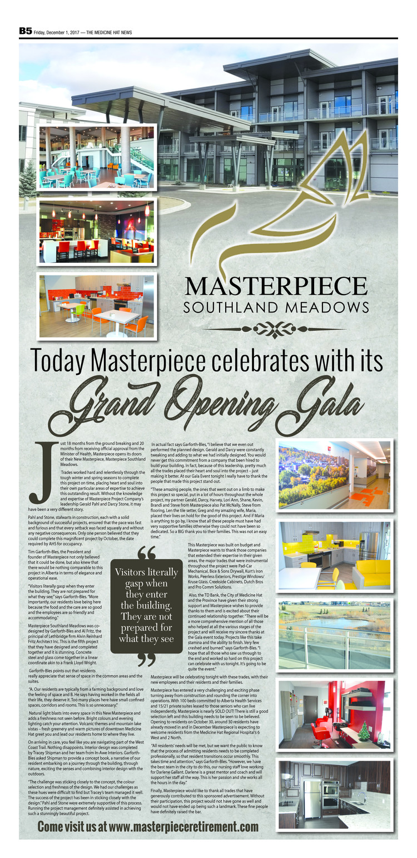 Masterpiece Southland Meadows Follow-Up Articles