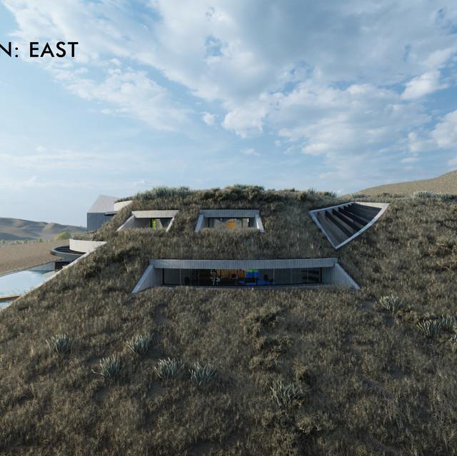Elevation - East