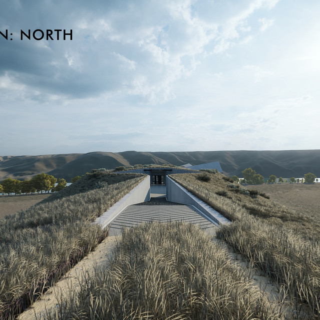 Elevation - North