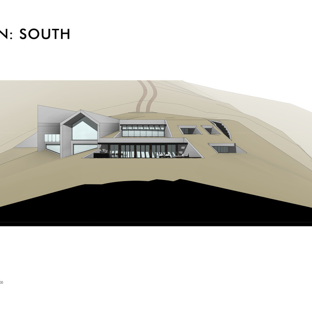 Elevation - South