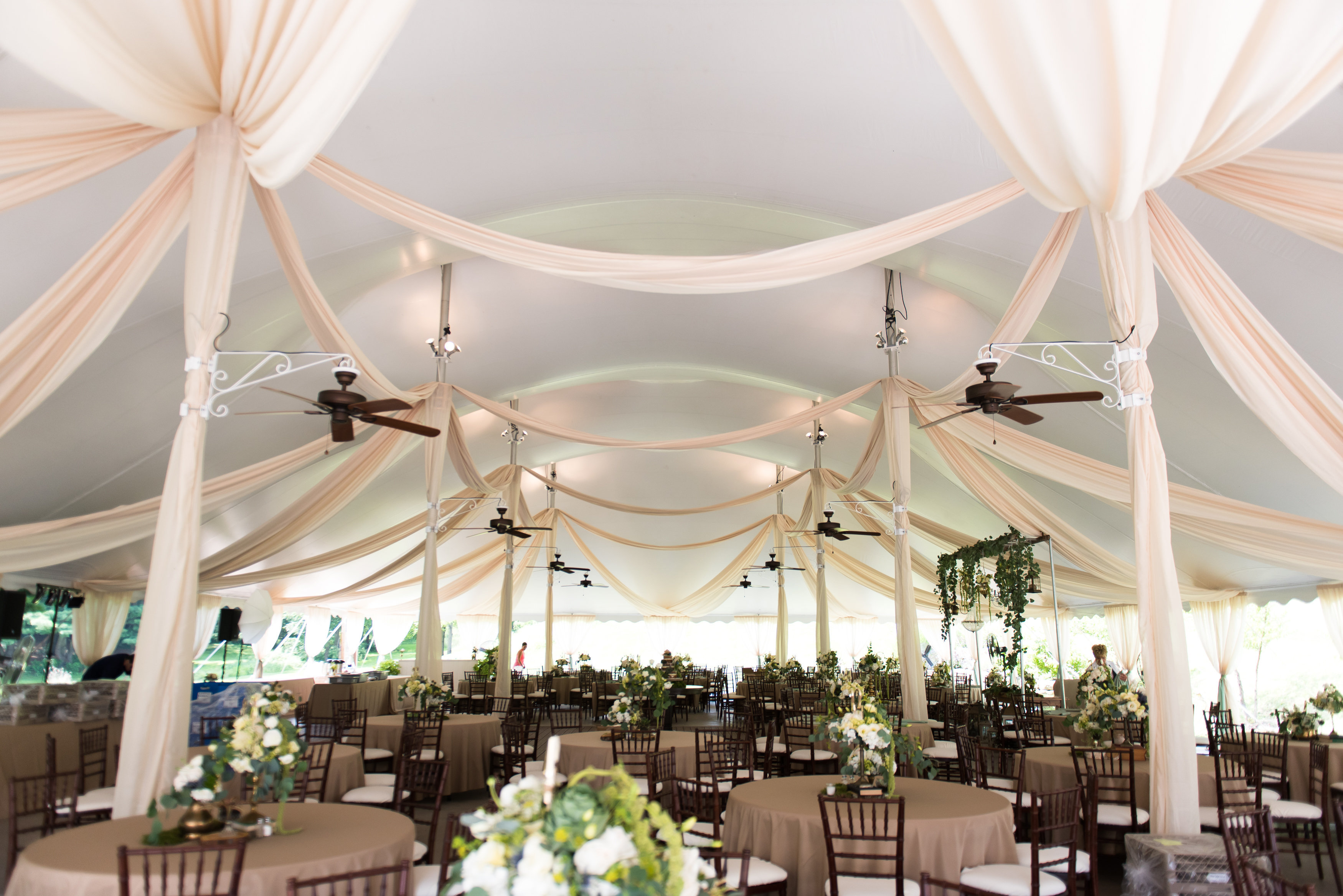 60X100 TENT w/ draping