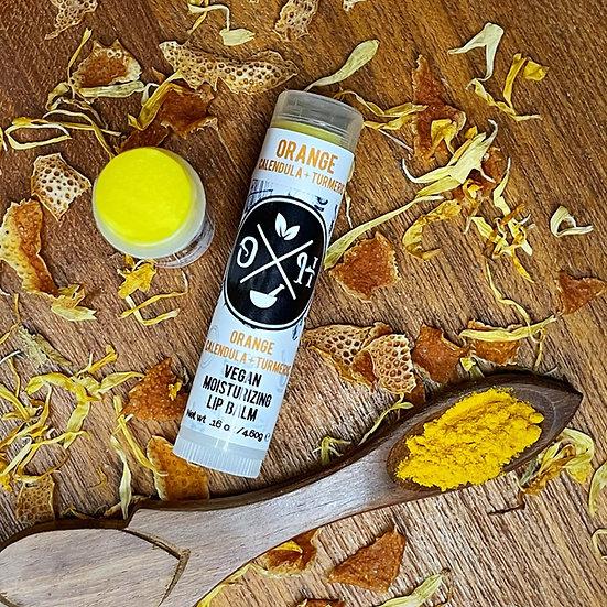 Orange Calendula + Turmeric Lip Balm