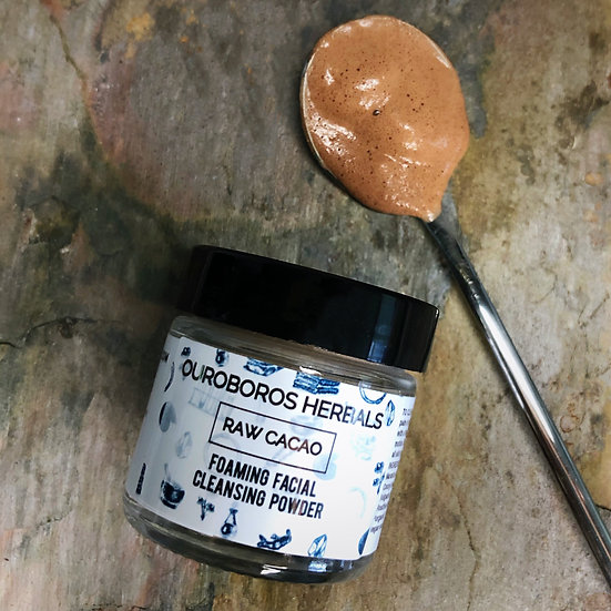 Raw Cacao Foaming Facial Cleansing Powder