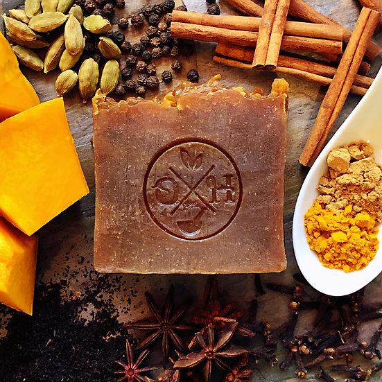 Pumpkin Chai Soap