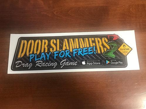 Door Slammers 2 Sticker