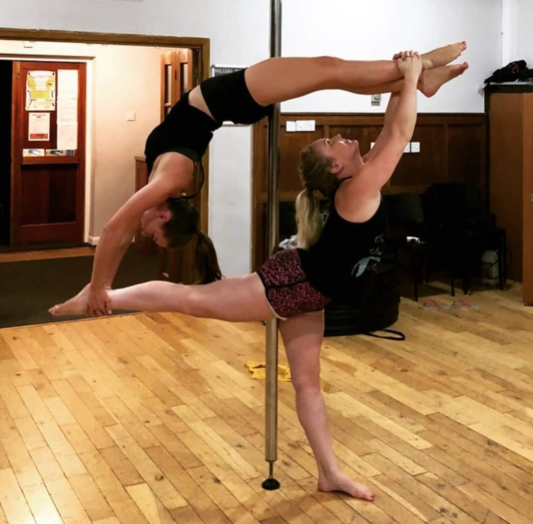 POLE FITNESS/DANCE - LEVEL 3 at 8:50PM