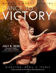 Monarch Dance Studio Advertisement & Program Cover