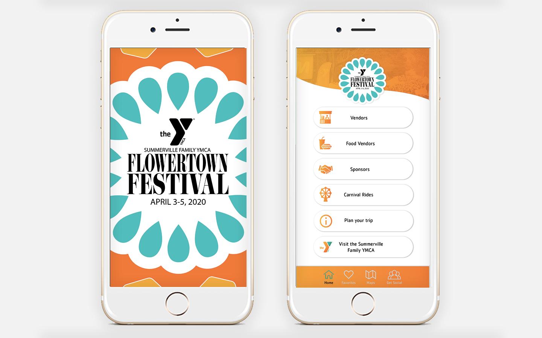 Summerville Family YMCA Mobile App Design 2021