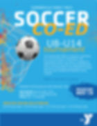 YMCA Soccer Flyer Design Summerville