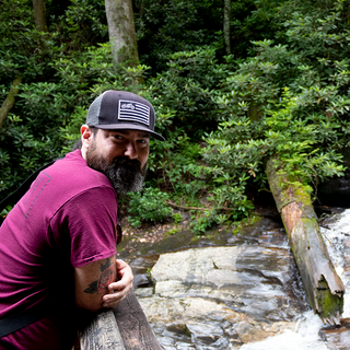 Duke Creek Falls Waterfall